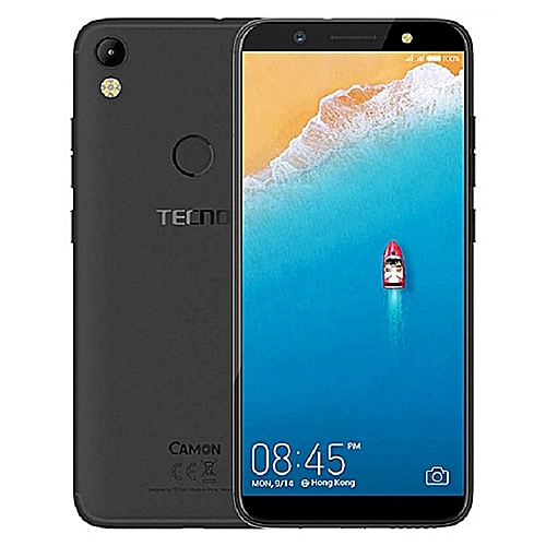 Camon CM-5.7inch HD,Android 7.0,(4GLTE),Daul Nano Sim,13mp Front And 13mp Back Camera, 2GB RAM+16GB ROM,Battery 3000mAh-MidNight Black