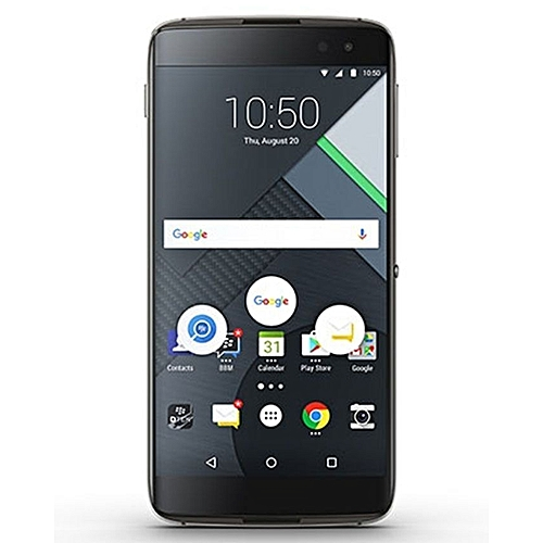 DTEK60 5.5-Inch (4GB, 32GB ROM) Android 6.0, 21MP + 8MP Smartphone - Earth Silver