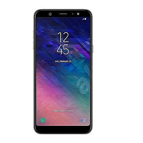 Galaxy A6 (2018) 5.6-Inch AMOLED (4GB, 64GB ROM) Android 8.0 Oreo, 16MP + 16MP Dual SIM 4G Smartphone - Black