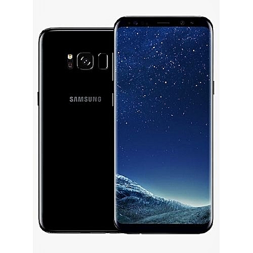 Galaxy S8 5.8-Inch QHD (4GB,64GB ROM) Android 7.0 Nougat, 12MP + 8MP Dual SIM LTE Smartphone - Midnight Black