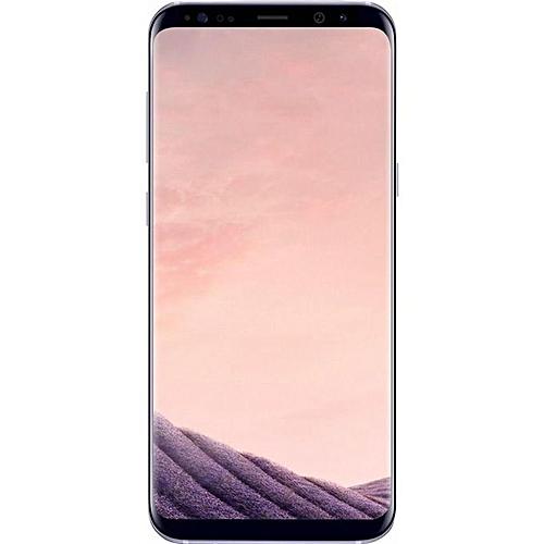 Galaxy S8 5.8-Inch QHD (4GB,64GB ROM) Android 7.0 Nougat, 12MP + 8MP Dual SIM LTE Smartphone - Orchid Grey
