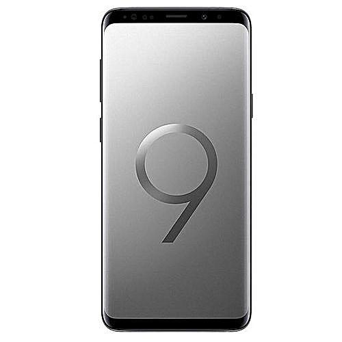 Galaxy S9 5.8-Inch QHD (64GB, 4GB RAM) Android 8.0 Oreo, 12MP + 8MP Dual SIM 4G Smartphone - Titanium Grey