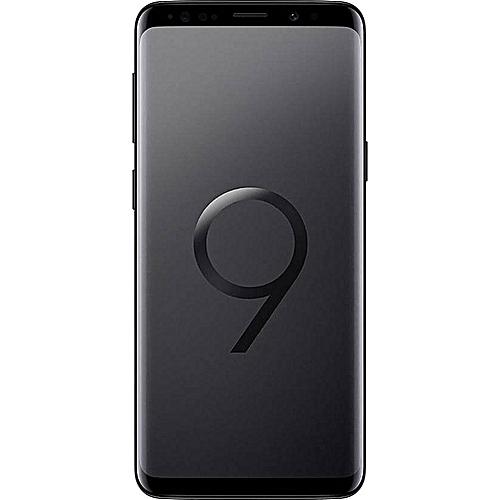 Galaxy S9 Plus (S9+) 6.2-Inch QHD (6GB, 64GB ROM) Android 8.0 Oreo, 12MP + 8MP Dual SIM 4G Smartphone - Midnight Black