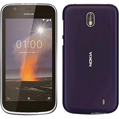 Nokia 1 - Dual Sim - Android 8.1 Oreo - 1gb Ram - 8gb Rom - Dark Blue
