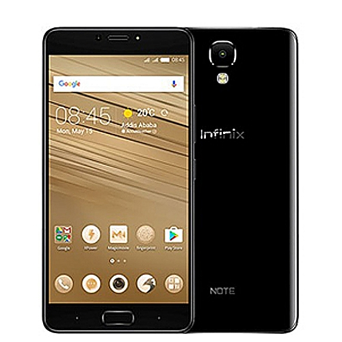 NOTE 4 (X572) 5.7-Inch IPS LCD (2GB, 16GB ROM) Android 7.0 Nougat, 13MP + 8MP Dual SIM 4G Smartphone - Black