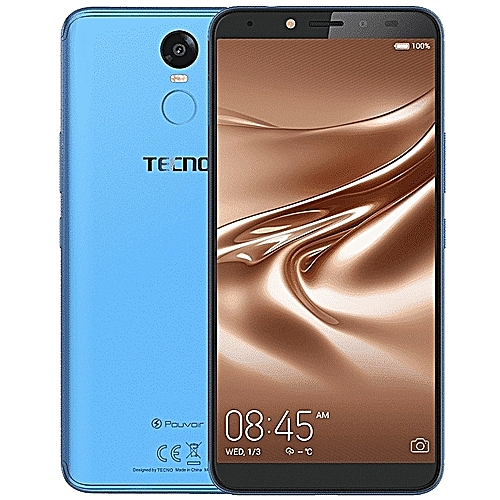 "Pouvoir 2 Pro(LA7 Pro) - Android 8.1, 1.3ghz Quad-core 4G LTE, 6.0"" HD IPS 13MP + 13MP Camera With Flash,16GB ROM + 3GB RAM And ,5000mah Battery,with Face Identification Sensor Plus Finger Print Sensor - City Blue"