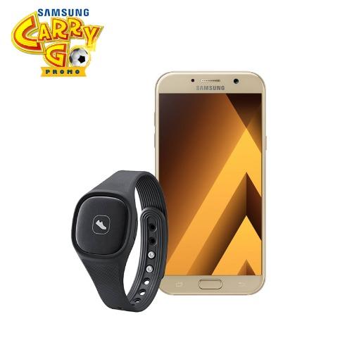 Samsung Galaxy A7 3gb, 32gb (2017) Sm-a720f - Gold + Free Activity Tracker