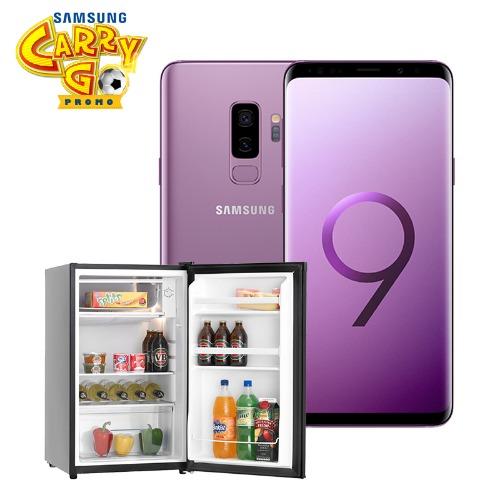 """Samsung S9+ 6.2"""" 6gb Ram, 64gb Rom, Android 8.1, (12mp/12mp) + 8mp - Liliac Purple + Free Fridge"""