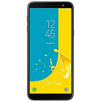 Galaxy J6 5.6-Inch HD, 2GB RAM, 32GB ROM, 13MP + 8MP Fingerprint Scanner, Dual SIM Smartphone - Black (JA18)
