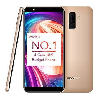 M9 5.5-Inch IPS (2GB,16GB ROM) Android 7.0 Nougat (8MP + 2MP) + (5MP + 2MP) 3G Smartphone - Gold